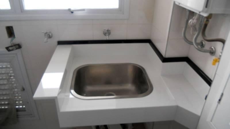 Bancada de Pedra para área de Serviço Preço Poá - Bancada de Mármore para Banheiro
