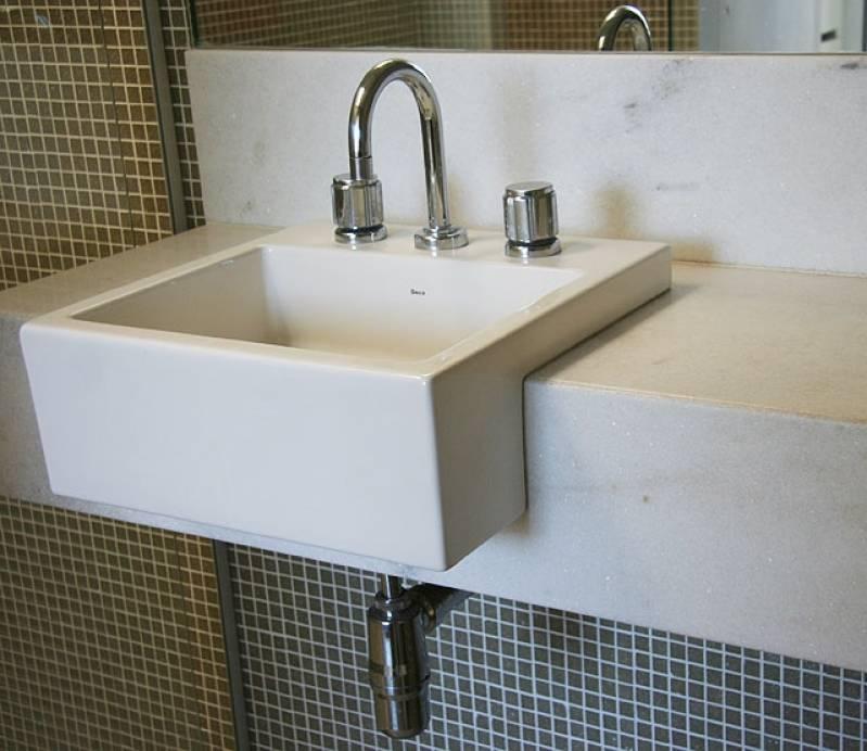 Comprar Lavabos para área Externa de Mármore Ipiranga - Lavatório para Banheiro em Mármore