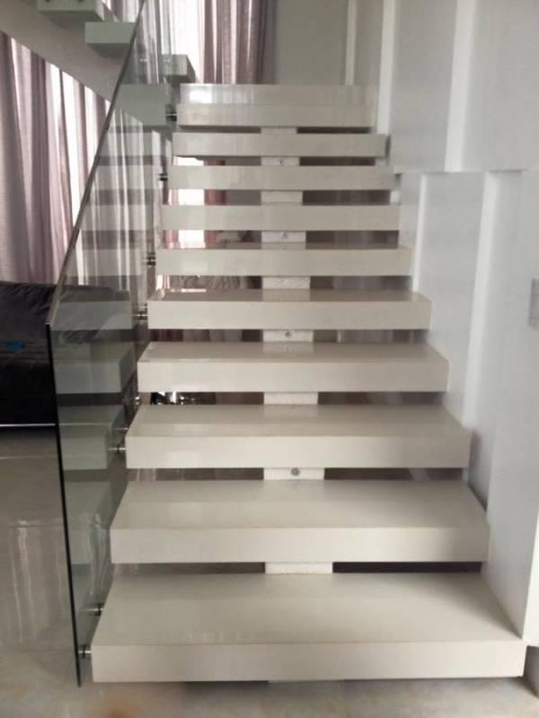 Escada de Granito Preço Vila Ré - Escada com Mármore