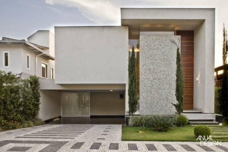 Fachadas em Granito para Jardins Serra da Cantareira - Fachada de Casa com Mármore