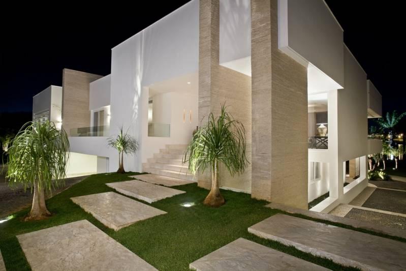 Instalação de Fachada de Mármore Residencial Franco da Rocha - Fachada de Casa com Mármore