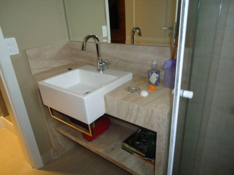 Lavabo de Mármore Liberdade - Lavatório para Banheiro em Mármore