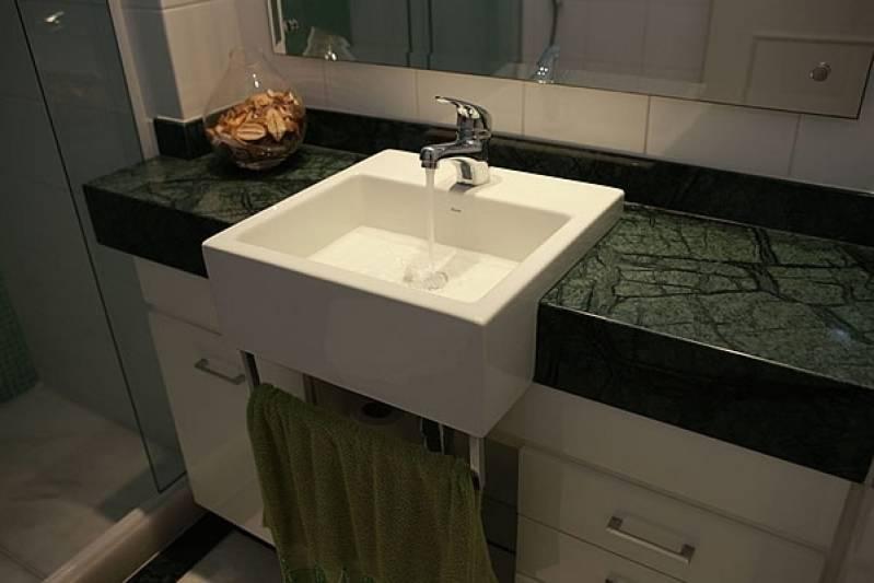 Lavabos para área Externa de Mármore Preço Marapoama - Lavatório para Banheiro em Mármore