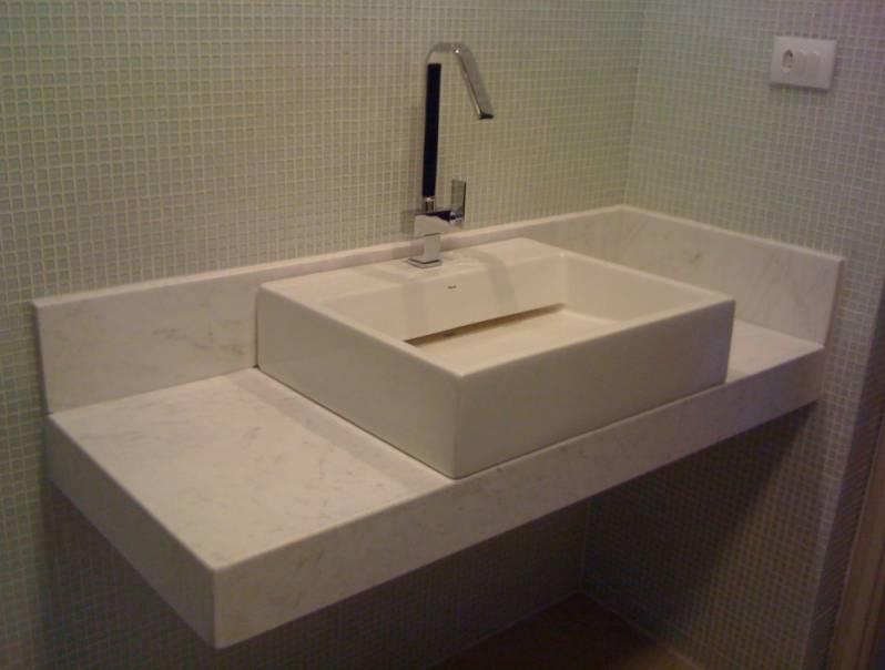 Lavabos para área Externa de Mármore Vila Prudente - Lavatório para Banheiro em Mármore