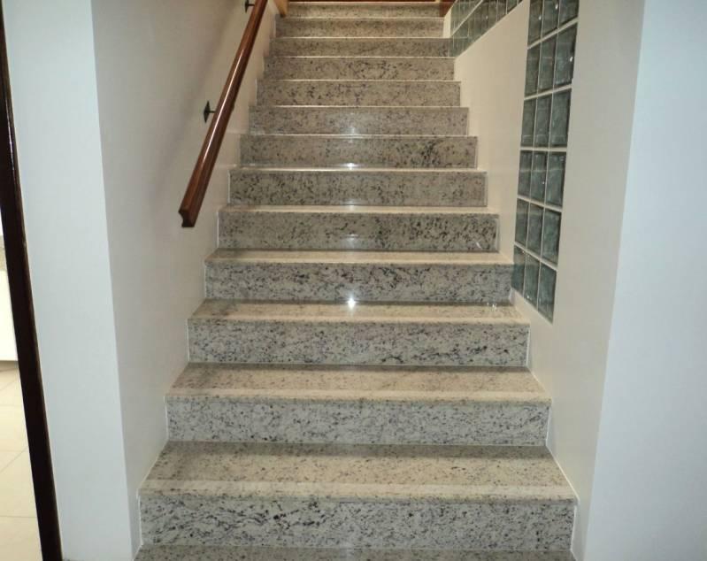 Quanto Custa Escada de Granito Rio Pequeno - Escada com Mármore