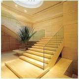 pedra de mármore na escada preço Francisco Morato